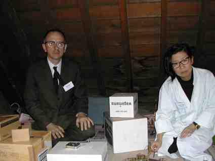 Mr Andy and Kazuko